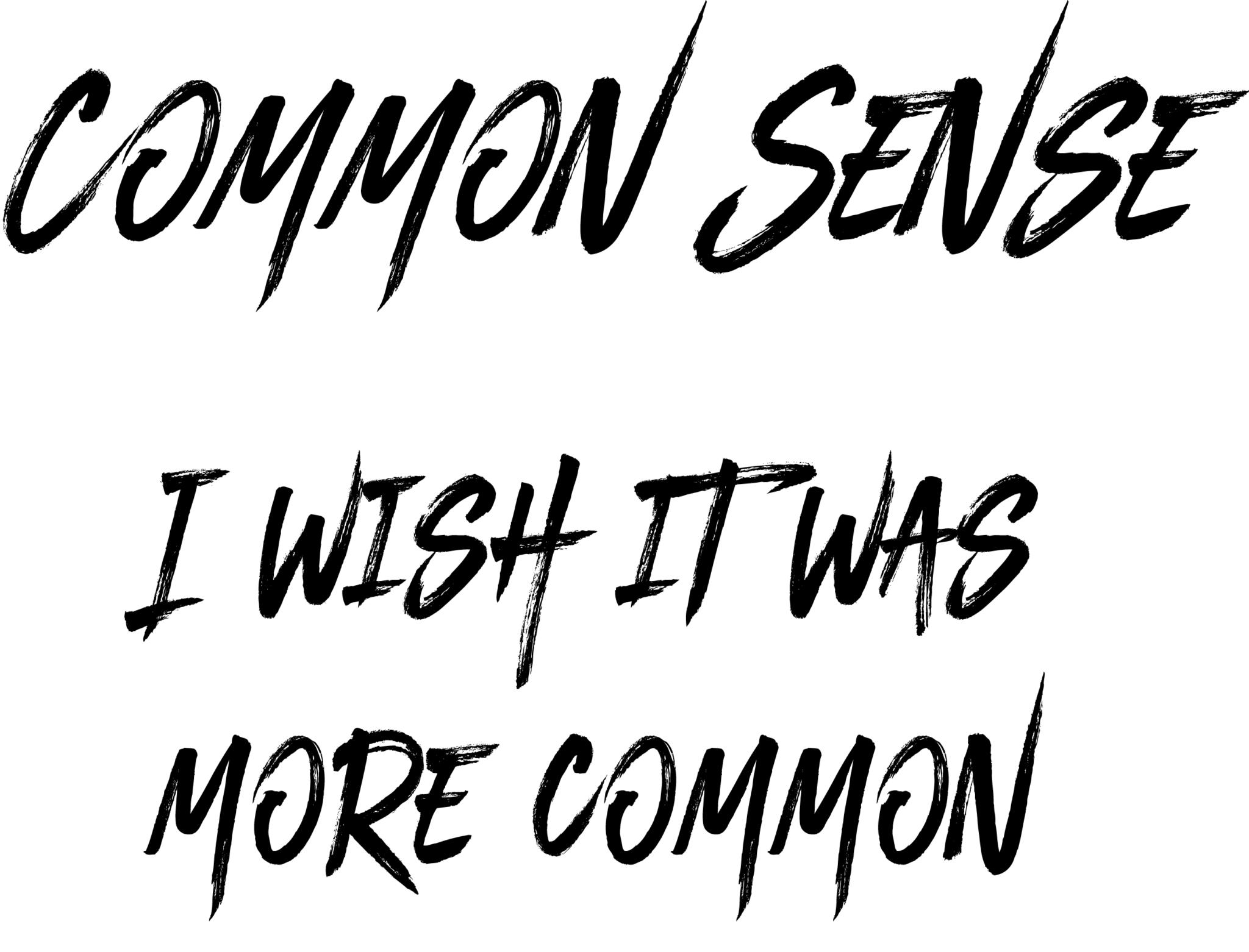 CommonSense