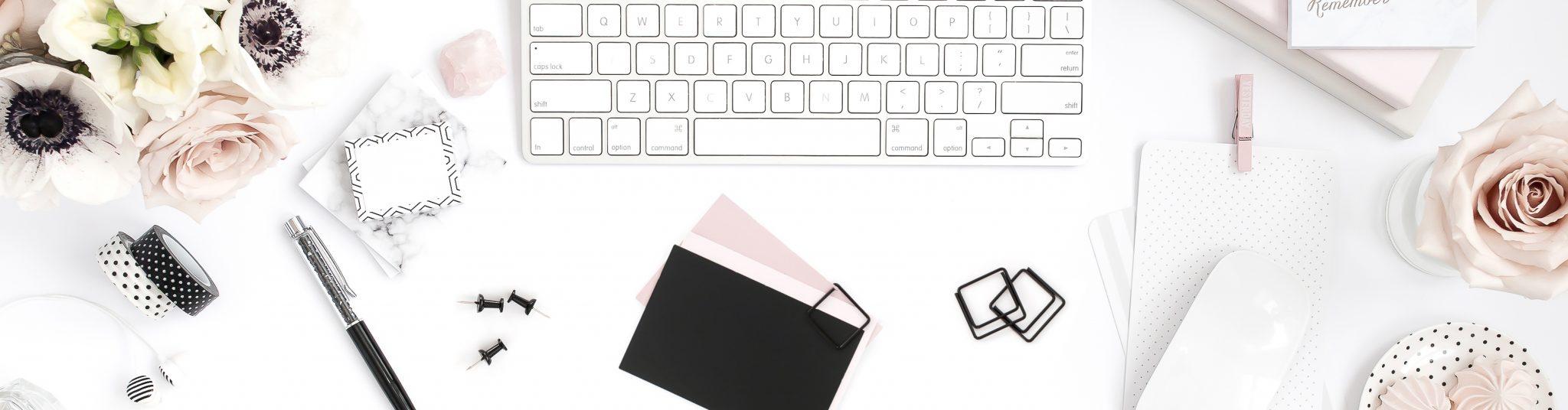 Eloquently Crafted Blog Website Header